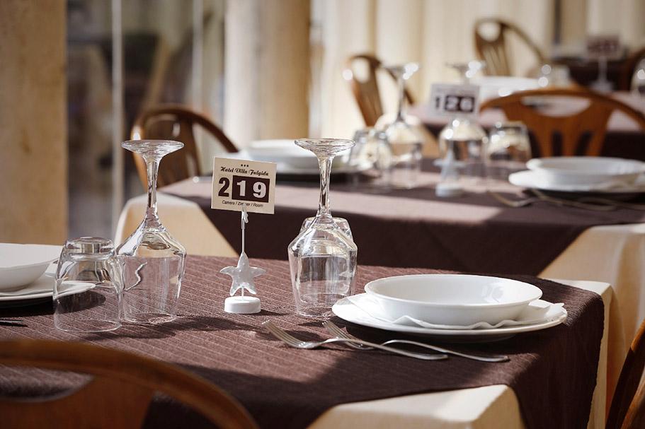 Foto ristorante villa fulgida